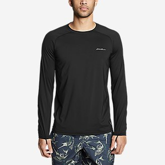 Thumbnail View 3 - Men's Amphib Long-Sleeve Sun T-Shirt