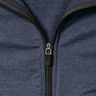Thumbnail View 3 - Men's Resolution Tech Full-Zip Hooded Sweatshirt