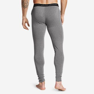 Thumbnail View 2 - Men's Poly Mesh Baselayer Pants - Midweight