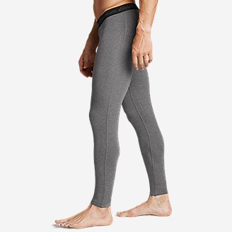 Thumbnail View 3 - Men's Poly Mesh Baselayer Pants - Midweight