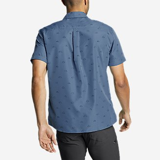Thumbnail View 2 - Men's Mountain Short-Sleeve Shirt - Print