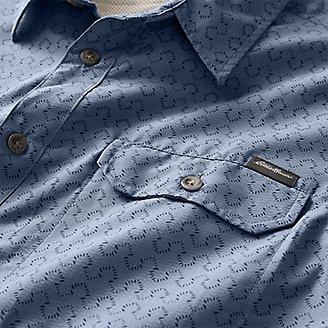 Thumbnail View 3 - Men's Mountain Short-Sleeve Shirt - Print