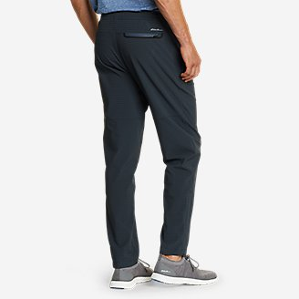 Thumbnail View 2 - Men's Guide Grid Pull-On Pants