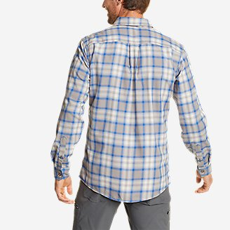 Thumbnail View 2 - Men's Eddie Bauer Expedition Performance Flannel Shirt