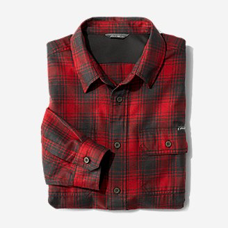 Thumbnail View 3 - Men's Eddie Bauer Expedition Performance Flannel Shirt