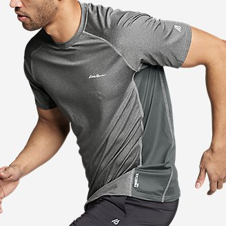 Thumbnail View 3 - Men's TrailCool Short-Sleeve T-Shirt