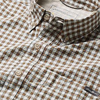 Thumbnail View 3 - Men's Pack It Seersucker Long-Sleeve Shirt