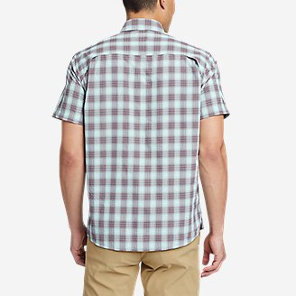 Thumbnail View 2 - Men's Pack It Seersucker Short-Sleeve Shirt