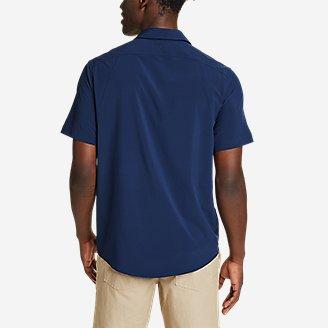 Thumbnail View 2 - Men's Departure Perforated Short-Sleeve Shirt