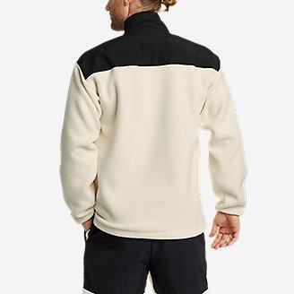 Thumbnail View 3 - EBTek™ Fleece Full-Zip Mock