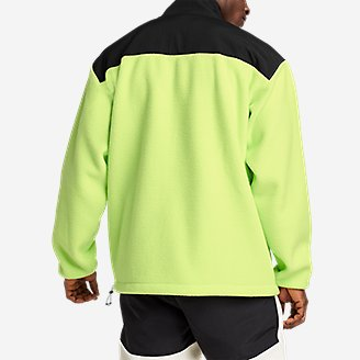 Thumbnail View 3 - EBTek™ Fleece Full-Zip Mock