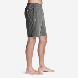 "Thumbnail View 2 - Men's Meridian Pro 9"" Shorts w/ Compression Liner"
