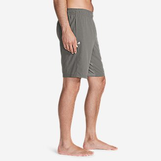 "Thumbnail View 3 - Men's Meridian Pro 9"" Shorts w/ Compression Liner"
