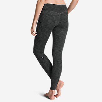 Thumbnail View 2 - Women's Trail Tight Leggings - 2D Heather