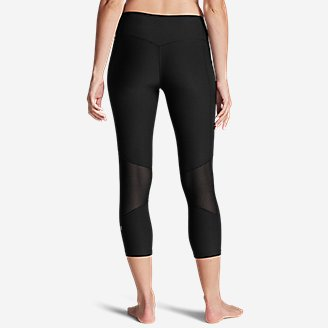 Thumbnail View 2 - Women's Movement Mesh Block Capris
