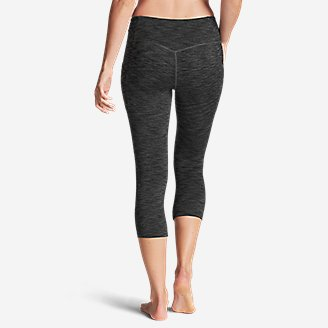 Thumbnail View 2 - Women's Trail Tight Capris - 2D Heather