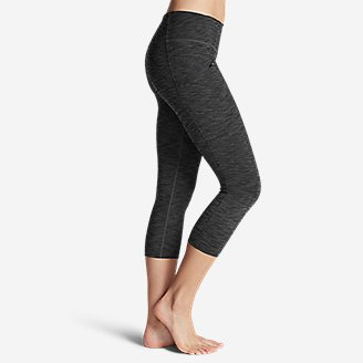 Thumbnail View 3 - Women's Trail Tight Capris - 2D Heather