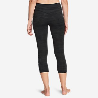 Thumbnail View 2 - Women's Movement Capris - Jacquard
