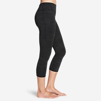 Thumbnail View 3 - Women's Movement Capris - Jacquard