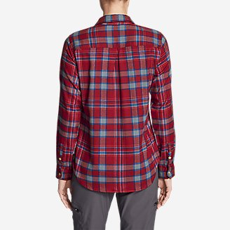 Thumbnail View 2 - Women's Eddie Bauer Expedition Flex Performance Flannel Shirt