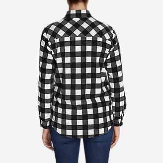 Thumbnail View 2 - Women's Chutes Fleece Shirt Jacket - Print