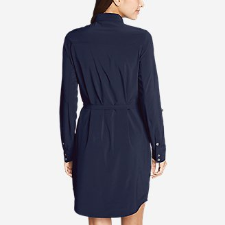 Thumbnail View 2 - Women's Departure Long-Sleeve Shirt Dress