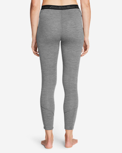 Women's Midweight Free Dry® Merino Hybrid Baselayer Pants by Eddie Bauer
