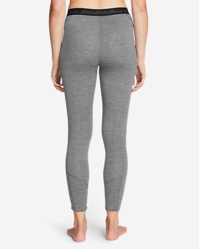 Women's Heavyweight Free Dry® Merino Hybrid Baselayer Pants by Eddie Bauer