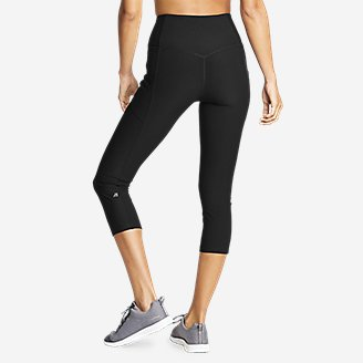Thumbnail View 2 - Women's Trail Tight Capris - High Rise