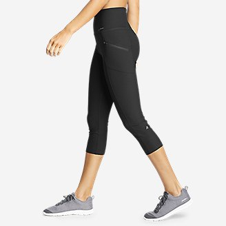 Thumbnail View 3 - Women's Trail Tight Capris - High Rise