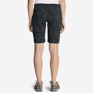 "Thumbnail View 2 - Women's Horizon Bermuda Shorts - Print, 11"""