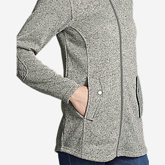 Thumbnail View 3 - Women's Radiator Fleece Cirrus Jacket - Long