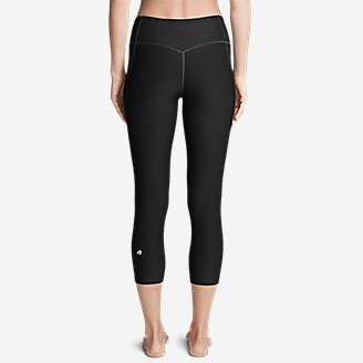 Thumbnail View 2 - Women's Movement Capris - Solid