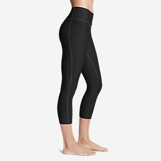 Thumbnail View 3 - Women's Movement Capris - Solid