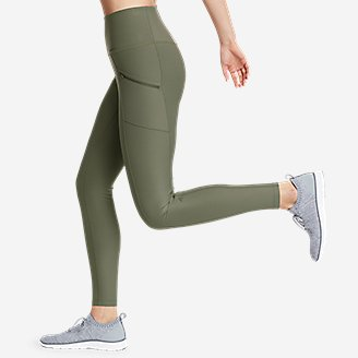 Thumbnail View 3 - Women's Trail Tight Leggings - High Rise