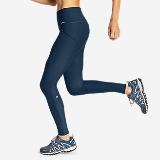 Thumbnail View 3 - Women's Trail Tight Leggings - High Rise