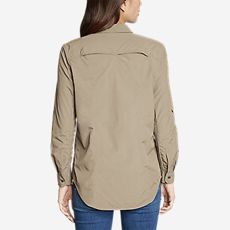 Thumbnail View 2 - Women's Mountain Ripstop Long-Sleeve Shirt