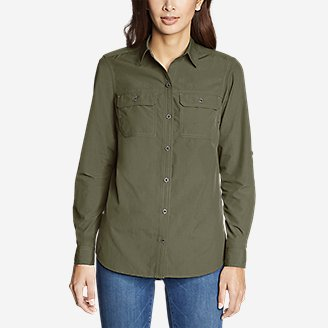 Thumbnail View 3 - Women's Mountain Ripstop Long-Sleeve Shirt