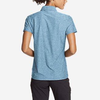 Thumbnail View 2 - Women's Infinity Pro Short-Sleeve Polo Shirt