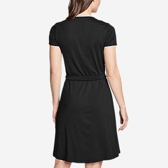 Thumbnail View 2 - Women's Aster Short-Sleeve Wrap Dress