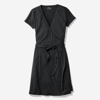 Thumbnail View 3 - Women's Aster Short-Sleeve Wrap Dress