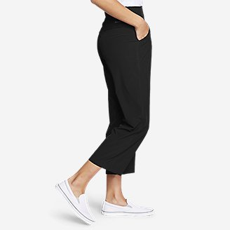 Thumbnail View 3 - Women's Departure Wide-Leg Crop Pants