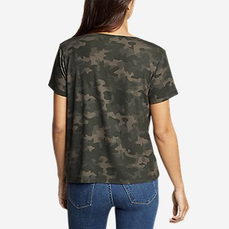 Thumbnail View 2 - Women's Mercer Short-Sleeve Easy T-Shirt - Print