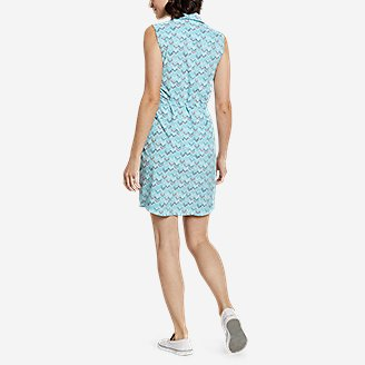 Thumbnail View 2 - Women's Departure Sleeveless Shirt Dress - Print