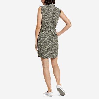 Thumbnail View 2 - Women's Departure Sleeveless Shirt Dress - Print