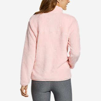 Thumbnail View 2 - Women's Quest Plush Fleece 1/4-Zip