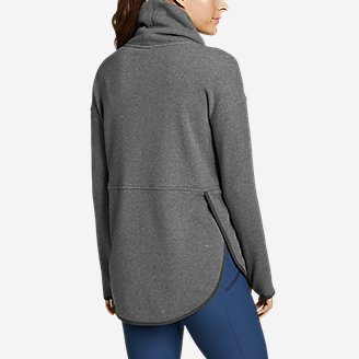 Eddie Bauer Womens Myriad Thermal Relaxed Funnel-Neck