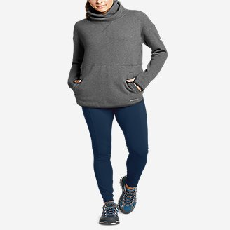 Thumbnail View 3 - Women's Northern Lights Funnel-Neck