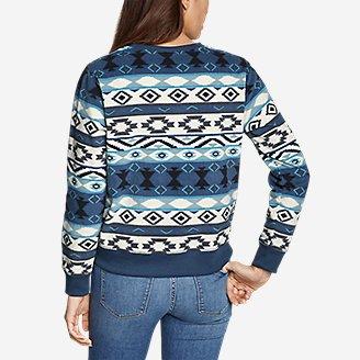 Thumbnail View 3 - Women's Quest Fleece Sweatshirt - Print