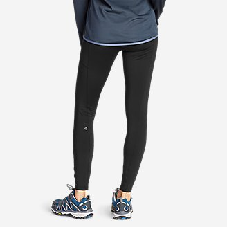 Thumbnail View 2 - Women's Crossover Trail Tight Leggings - High Rise